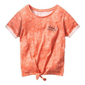 Disney The Little Mermaid Knotted T-Shirt for Girl