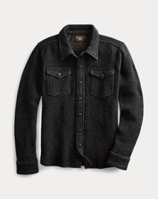 Ralph Lauren Indigo Workshirt Sweater