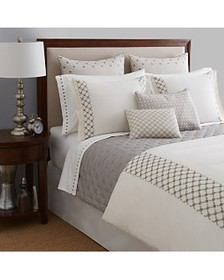 Vera Wang - Embroidered Lattice Bedding Collection