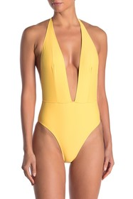 Kendall & Kylie Halter One-Piece Swimsuit