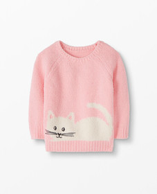 Hanna Andersson Cozy Critters Marshmallow Sweater