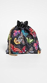 alice + olivia Odessa Embellished Butterfly Pouch