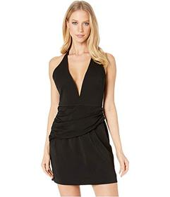 Nicole Miller Drape Mini Dress