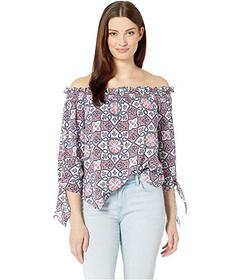 MICHAEL Michael Kors Ornate Mosaic Off Shoulder To