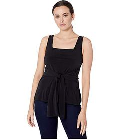 Kenneth Cole New York Tie Front Tank