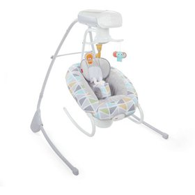 Fisher-Price 2-in-1 Deluxe Cradle 'n Swing with 6-