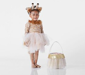 Pottery Barn Toddler Giraffe Tutu Costume