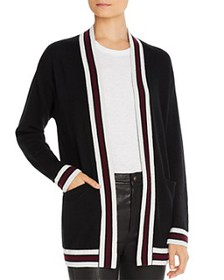 C by Bloomingdale's - Varsity-Stripe Cashmere Card