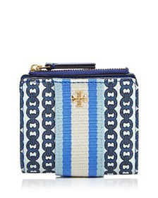 Tory Burch - Mini Gemini Link Canvas Wallet