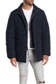 Jack Victor Jesse Quilted Dickey Puffer Parka