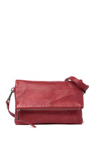 Lucky Brand Inzy Leather Flap Shoulder Bag