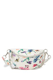Betsey Johnson Floral Belt Bag
