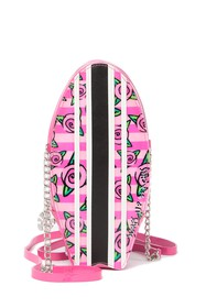 Betsey Johnson Surfboard Kitsch Crossbody Bag