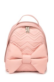 Betsey Johnson Blorraine Shape Quilted Backpack
