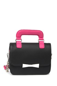 Betsey Johnson Top Handle Crossbody Bag