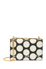 Marc Jacobs Double Take Leather Polka Dot Chain Cr