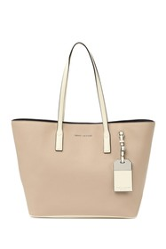 Marc Jacobs Sidekick Colorblock Leather Tote Bag