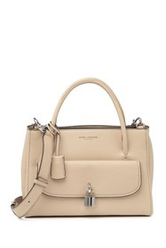 Marc Jacobs Lock That Leather Tote Bag