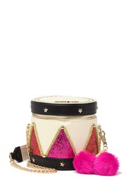 Betsey Johnson Little Drummer Crossbody Bag