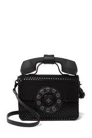 Betsey Johnson Answer Me Phone Crossbody Bag