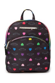 Betsey Johnson Printed Nylon Backpack