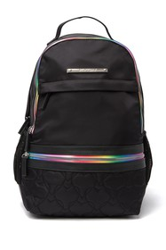Betsey Johnson Mixed Prints Nylon Backpack