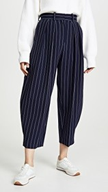 See by Chloe Pinstripe Trousers