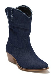 Charles By Charles David Zulu Denim Western Boot