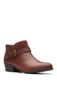 Clarks Addiy Sharilyn Ankle Boot - Wide Width Avai