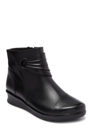 Clarks Hope Twirl Wedge Bootie
