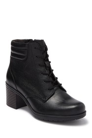 Clarks Hollis Jasmin Leather Heeled Boot