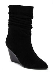 Charles By Charles David Empire Suede Wedge Bootie