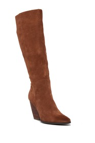 Charles By Charles David Nelson Suede To-The-Knee