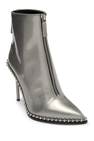 Alexander Wang Pointed Toe Leather Bootie