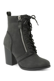 XOXO Menton Lace-Up Bootie