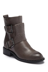 Charles By Charles David Tupper Studded Moto Boot