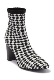Charles By Charles David Banker Houndstooth Knit B