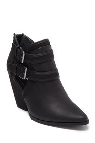 Charles By Charles David Naval Buckle Bootie