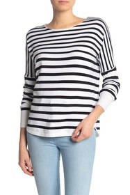 French Connection Baby Soft Striped Boatneck Sweat