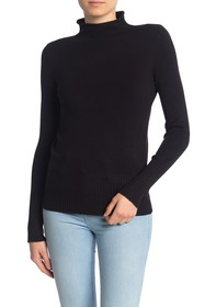 French Connection Mock Neck Long Sleeve Sweater