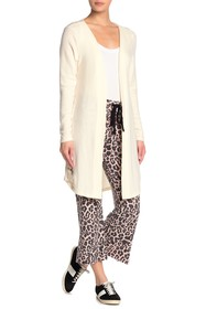 LNA Long Sleeve Open Front Strap Detail Cardigan