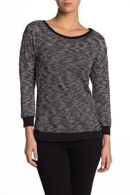 Papillon Two-Tone Sweater