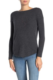 THE CASHMERE PROJECT Peace Sign Cashmere Pullover