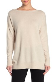 Lafayette 148 New York Relaxed Cashmere Pullover
