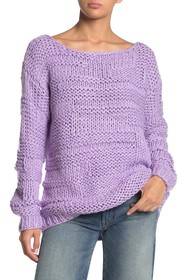 Lovers + Friends Vail Textured Knit Sweater