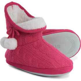 Stride Rite Cozy Bootie Slippers (For Girls) in Pi