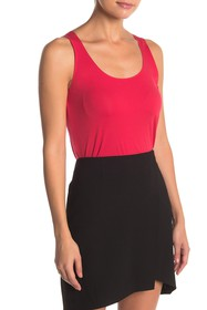 WOLFORD Scoop Neck Knit Tank Top