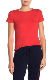 THE CASHMERE PROJECT Short Sleeve Cashmere Slim Fi