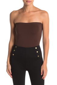 WOLFORD Fatal Strapless Knit Blouse