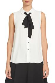 CeCe by Cynthia Steffe Bow Tie Blouse